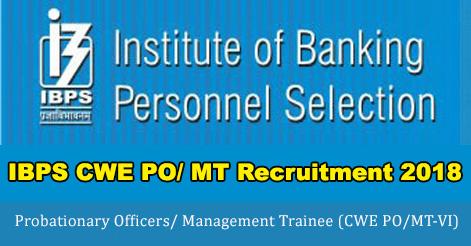 IBPS-CWE-PO-MT-Recruitment-2018