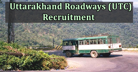 Driver Recruitment in Uttarakhand Roadways (UTC)