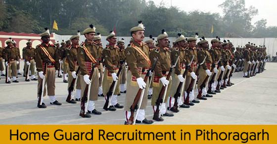 Home Guard Recruitment in Pithoragarh
