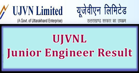 UJVNL Junior Engineer Result