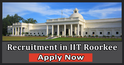 Officer & Executive Recruitment in IIT Roorkee