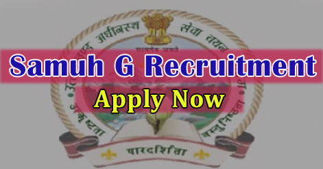 UKSSSC Samuh G (Group C) Recruitment in Uttarakhand 2017