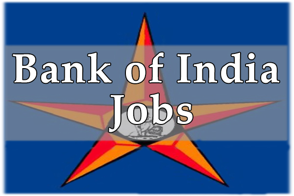 Bank of India Jobs