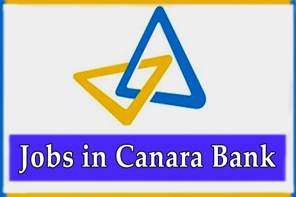 Canara Bank Jobs