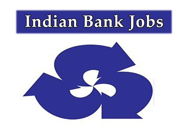 Indian Bank Jobs