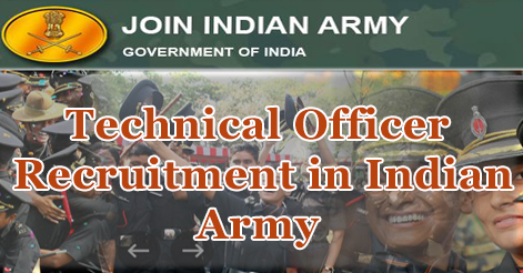 Technical Officer Recruitment in Indian Army  49th Short Service Commission