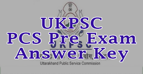 UKPSC PCS Pre Exam Answer Key