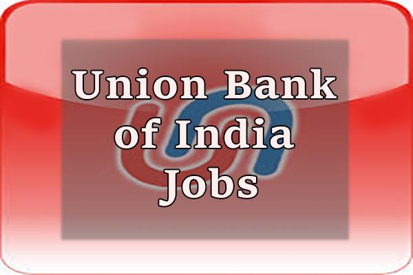Union Bank of India Jobs