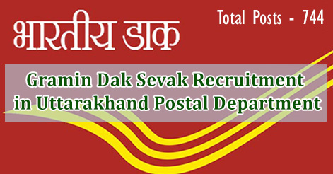 Gramin Dak Sevak Recruitment in Uttarakhand Postal Department