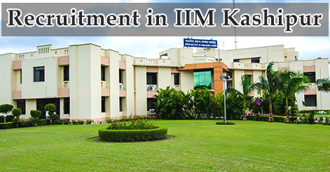Academic Associates Recruitment in IIM Kashipur