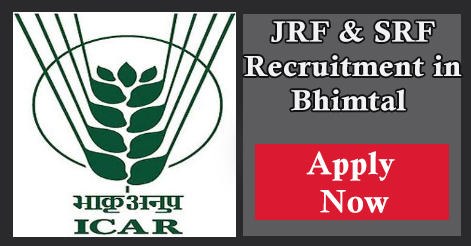 JRF & SRF Recruitment in DCFR Bhimtal Uttarakhand