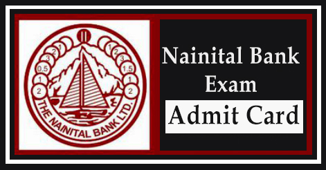 Nainital Bank Specialist Officer Exam 2016 Admit Card