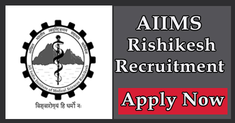 Senior Resident & Tutor Recruitment in AIIMS Rishikesh