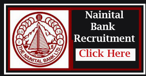 Clerk Recruitment in Nainital Bank