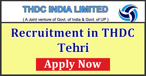 Trade Apprentice Trainee Recruitment in THDC Tehri