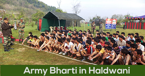 Army Recruitment Bharti Rally in Haldwani
