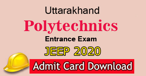 Download JEEP Admit Card