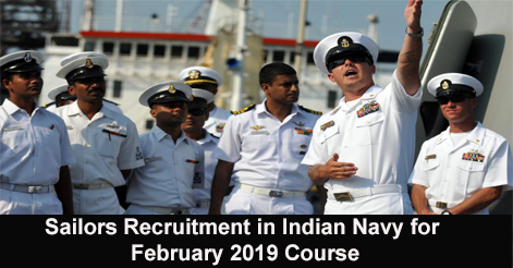 Sailors-Recruitment-in-Indian-Navy-for-February-2019-Course