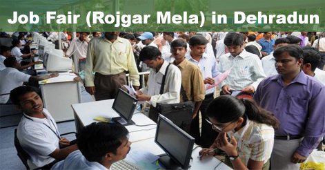 Grand Job Fair (Rojgar Mela) in Dehradun - 592 Posts