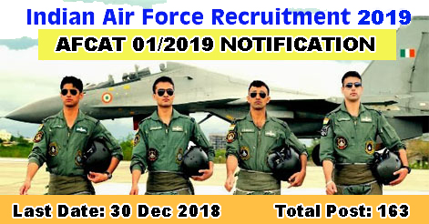 Indian-Air-Force-AFCAT-2019-Notification