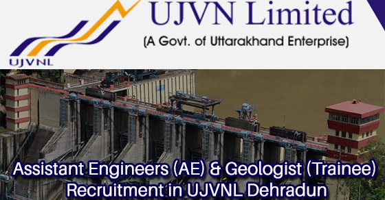 AE Recruitment in UJVNL