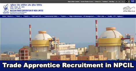 90 Trade Apprentice Recruitment in NPCIL