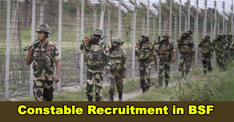 Constable Recruitment in BSF Engineering (Electrical) Wing
