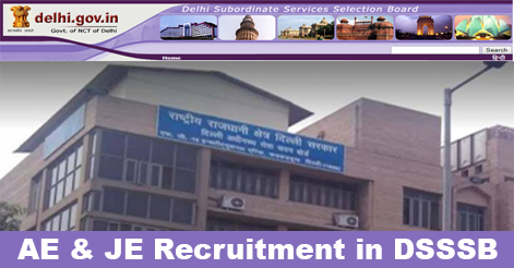 Assistant Engineer & Junior Engineer Recruitment in DSSSB