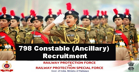 RPF-RPSF Constable (Ancillary) Recruitment in Indian Railways