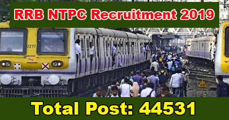 NTPC Recruitment in Railway Recruitment Board (RRB)