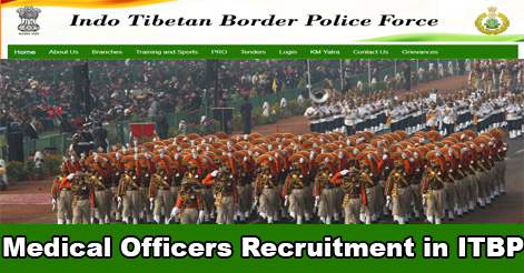 Medical Officer Recruitment in ITBP