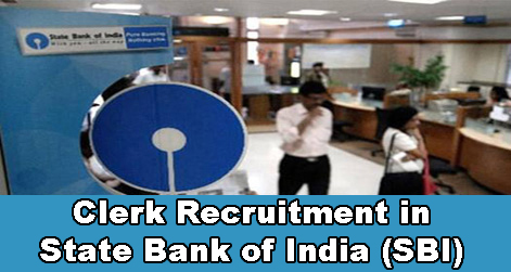 Clerk Recruitment in State Bank of India (SBI)