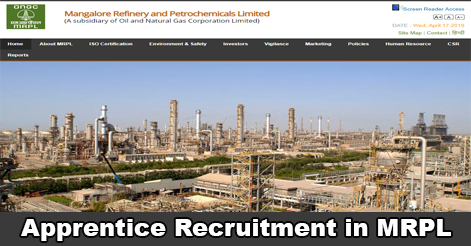 Graduate & Technician Apprentice Recruitment in MRPL