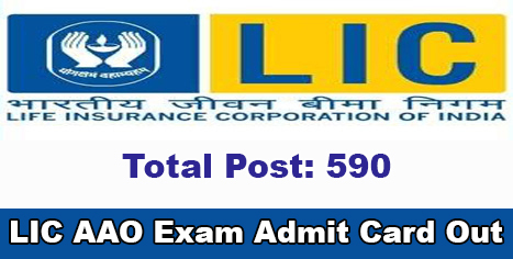 LIC AAO 2019 Prelims Exam Admit Card Out