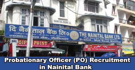 PO Recruitment in Nainital Bank