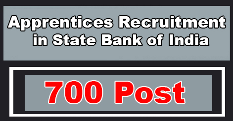 Apprentice Recruitment in SBI