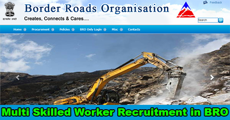 Multi Skilled Worker Recruitment in BRO