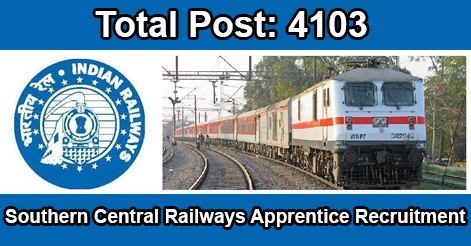 Apprentice Recruitment in Southern Central Railway