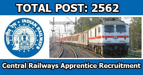 Trade Apprentice Recruitment in Central Railway