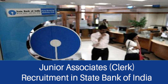 Junior Associates Recruitment in SBI