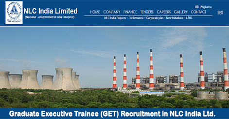 Graduate Executive Trainee (GET) Recruitment in NLC India Ltd.