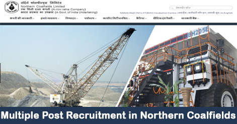 Overseer, Amin, Chemist & Accountant Recruitment in NCL