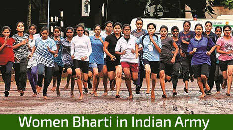 Women Bharti in Indian Army