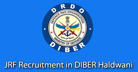 JRF Recruitment in DIBER Haldwani