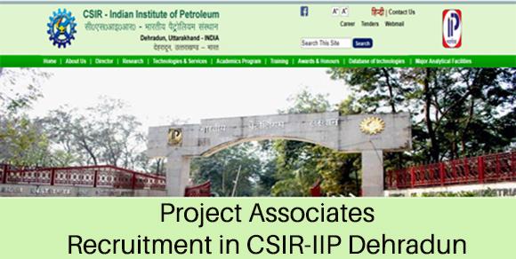 PA Recruitment in CSIR-IIP Dehradun