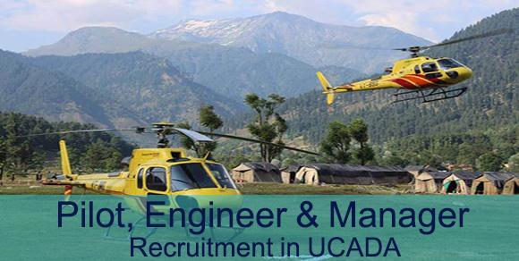 Pilot, Engineer & Manager Recruitment in UCADA