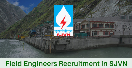 Field Engineers Recruitment in SJVN